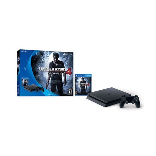 consola ps4 hw 500gb uncharted 4 bundle