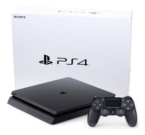 consola ps4 play station 4 1tb slim + joystick control sony