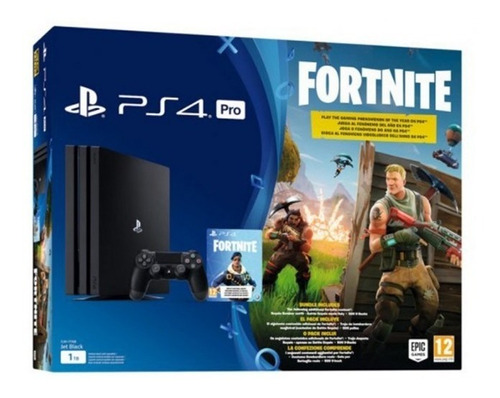 consola ps4 pro 1tb +fortnite