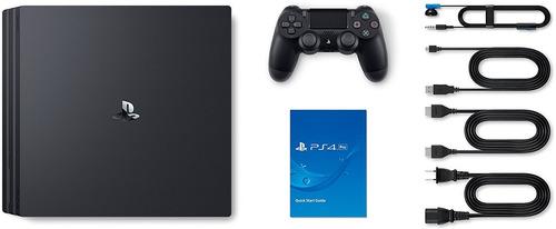 consola ps4 pro 1tb + uncharted 4 + control nuevo
