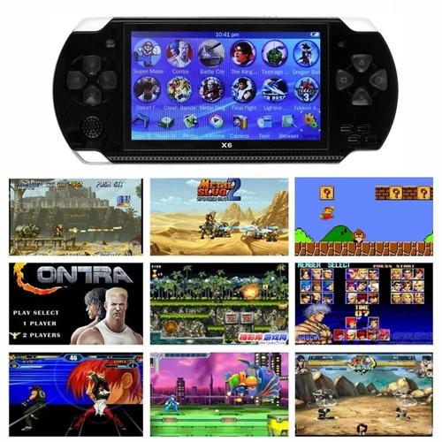 consola psp game tipo génesis 4gb cámara juegos vídeos mp3
