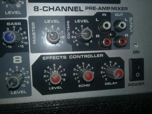 consola pvi8b y cornetas pv215 como nuevas 500trump