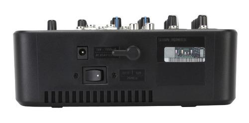 consola rcf l-pad 6 can con efectos