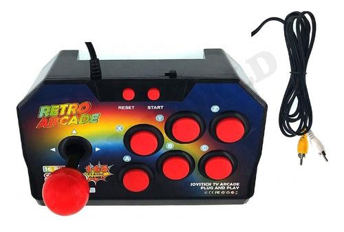 consola retro arcade 145 juegos 16 bits joystick portatil