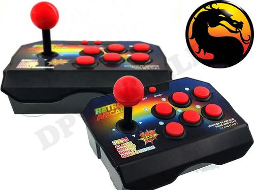 consola retro arcade 145 juegos snes joystick 6 botones