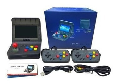 consola retro arcade, 3000 juegos clasicos, emulador, tv out