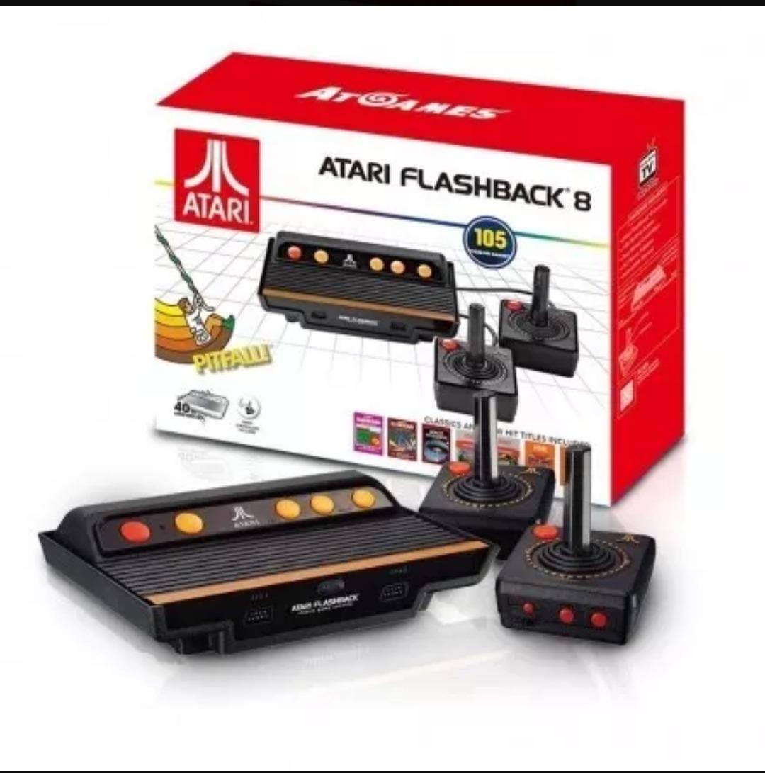 Consola Retro Atari Flashback 8 105 Juegos Incluidos 4 990 00