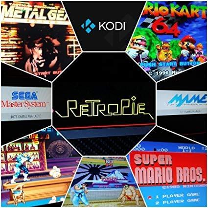 Consola Retro Batocera Kodi 32gb (rpi 3 Bplus Pc)+tutorial