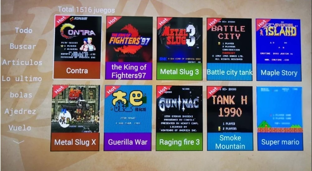 Consola Retro Game 1500 Juegos, Netflix, Android, Hd - Mza