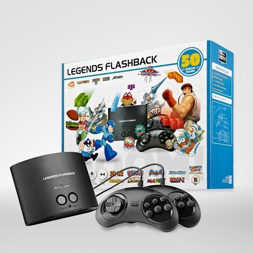 consola retro legends flashback, hdmi, 50 juegos integrados