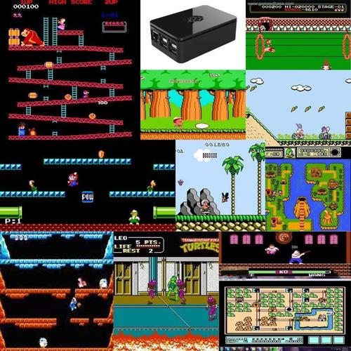 consola retro mini box pro  15.000 juegos sin repetir