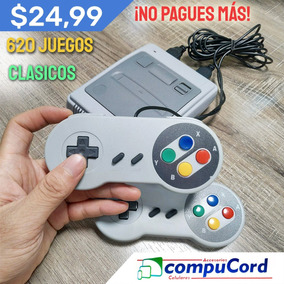 Consola Retro Super Mini 2019 Nintendo 620 Juegos Nuevo Caja