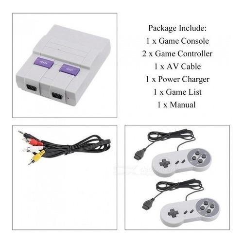 consola retro super mini 400 juegos full game clásicos