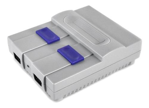 consola retro tipo snes hdmi 400 juegos 2 mandos /e