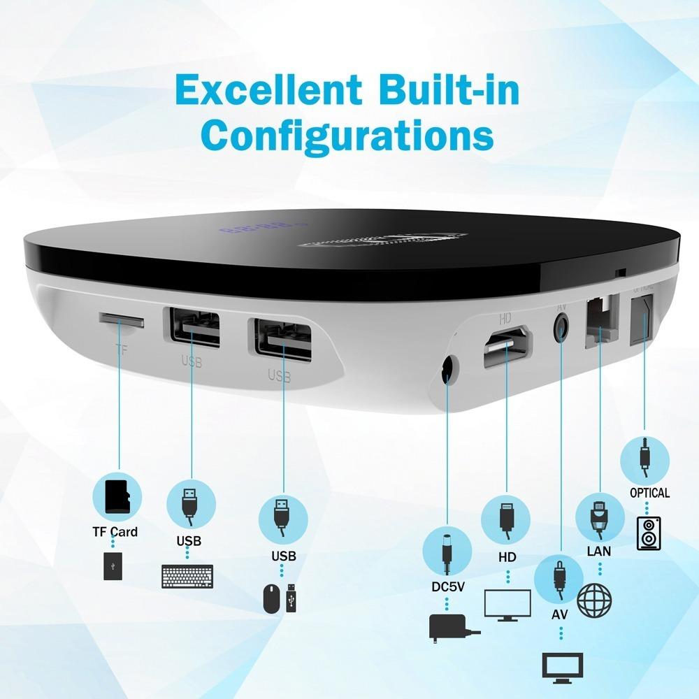 Consola Retro Tv Box 1 Joystick 5300 Juegos Recalbox 16gb