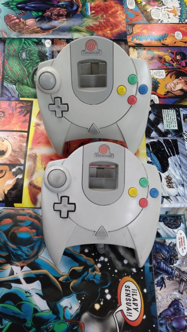 Consola Sega Dreamcast 2 Controles Memoria Y 10 Juegos Perfe