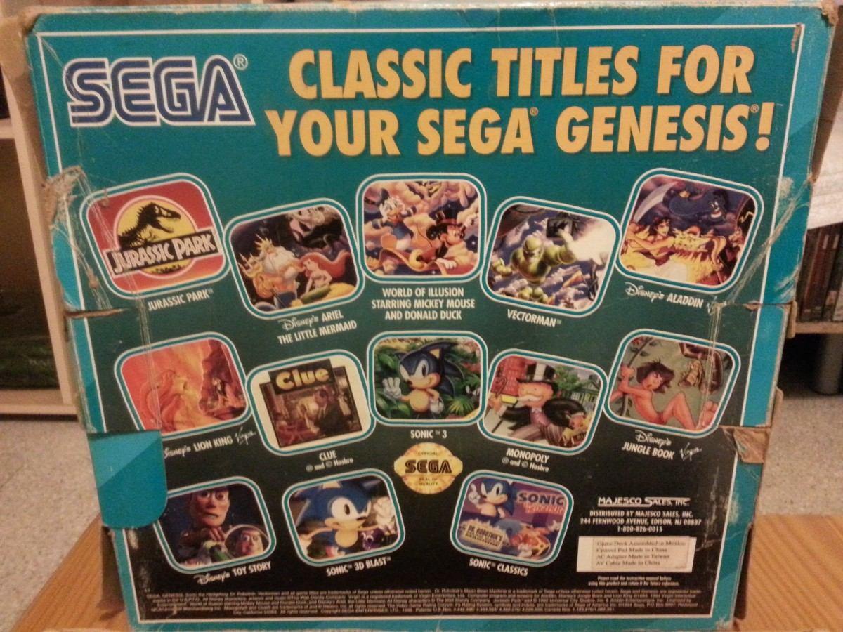 Consola Sega Genesis 3 Completa Como Nueva En Caja 2 000 00 En
