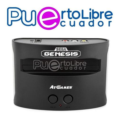 consola sega genesis classic + 2 controles + 81 j u e g o s