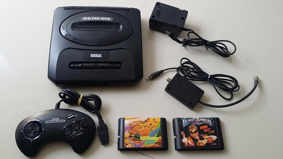 Consola Sega Genesis Control Juegos Cables Completa
