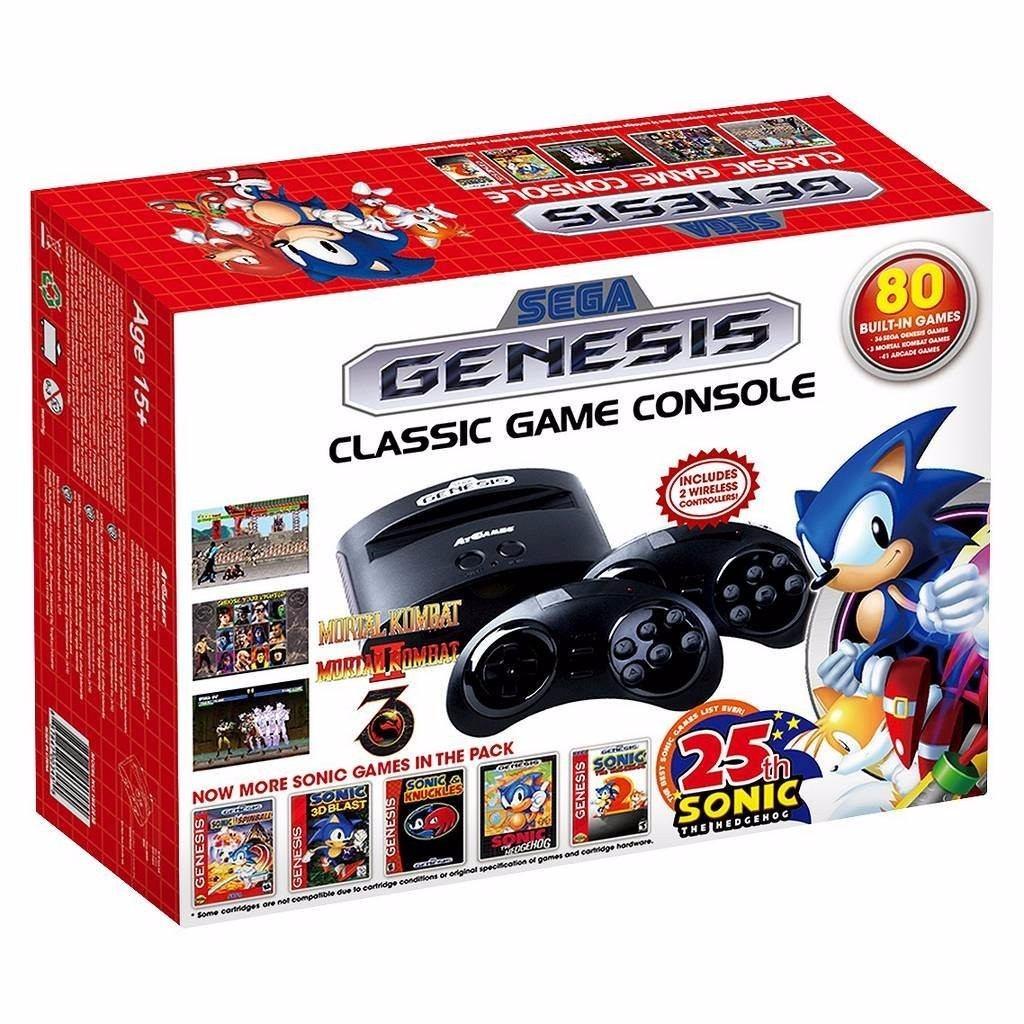 Consola Sega Genesis Juegos Clasicos Modelo 2016 Bs 2 49 En