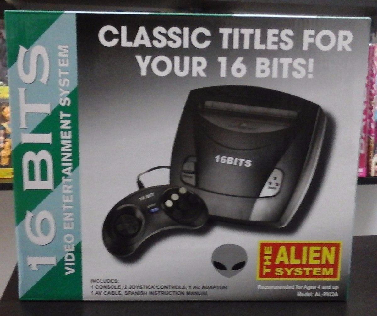 consolas de videojuegos de 16 bits