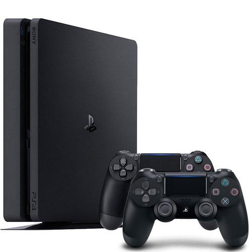 consola sony playstation 4 1tb god of war 4 + 2 joysticks