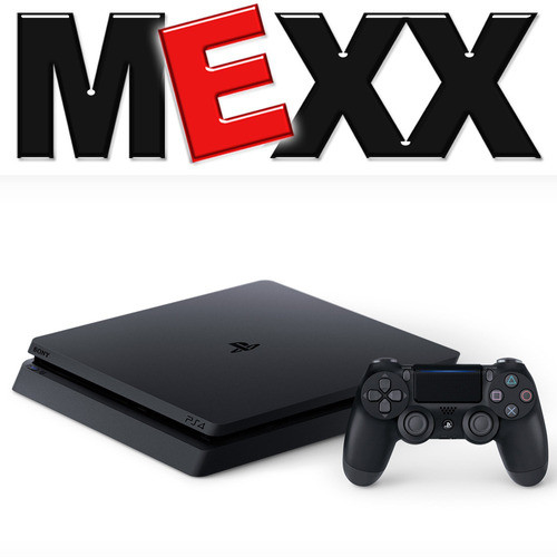 consola sony playstation 4 slim ps4 1tb + 1 joystick mexx