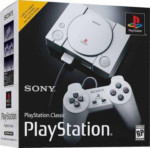 consola sony ps1 playstation 1 mini classic + 20 juegos nuev