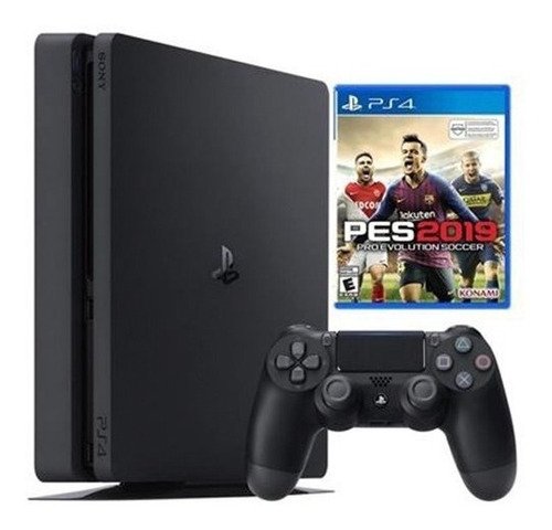consola sony ps4 slim 1 tb + pes 2019 - prophone