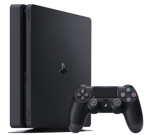 consola sony ps4 slim 500gb con uncharted 4 a thief's end