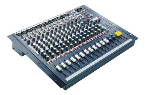 consola soundcraft epm12 12 mixer 12can mono + 2 can stereo