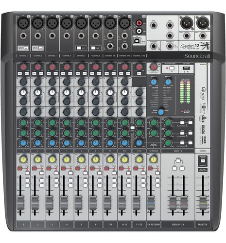consola soundcraft signature multitrack mtk12 envio gratis