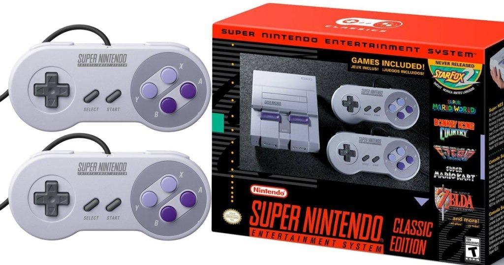 Consola Super Nintendo Classic Edition Con Juegos Incluidos