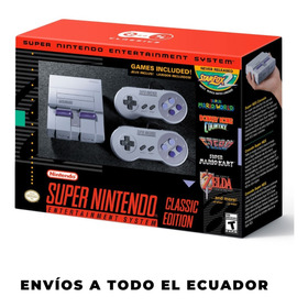 Consola Super Nintendo Mini Hdmi 21 Videojuego Retro Clásico