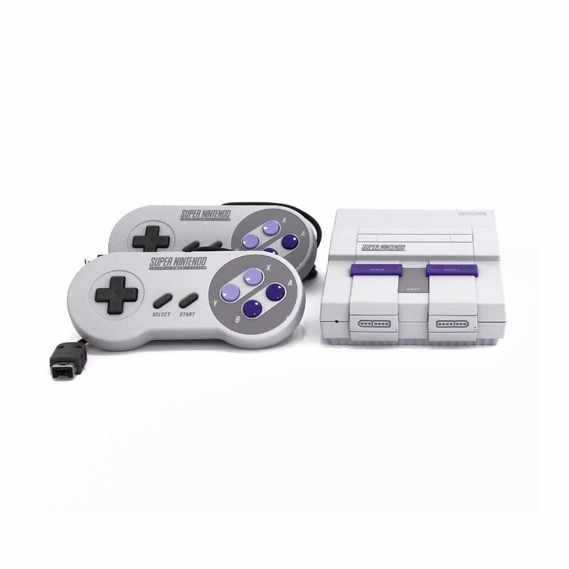 Consola Super Nintendo Nes Classic Edition Con Juegos 4 999 00