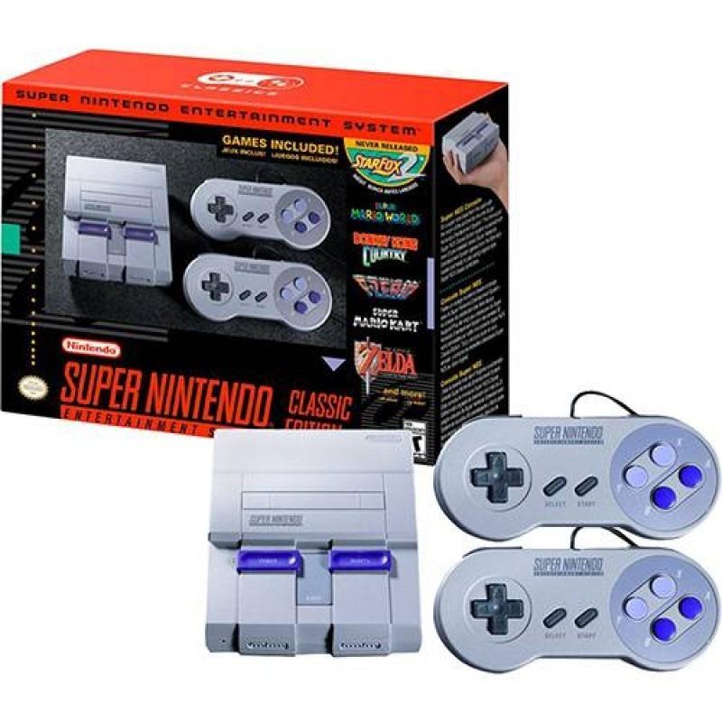 Consola Super Nintendo Nes Snes Classic Edition 21 Juegos