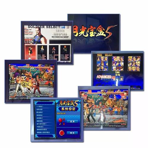 consola tablero arcade multijuegos pandora 5s 1200 juegos