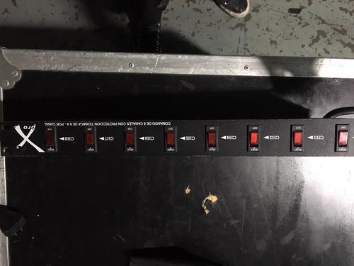 consola tablero luces dj