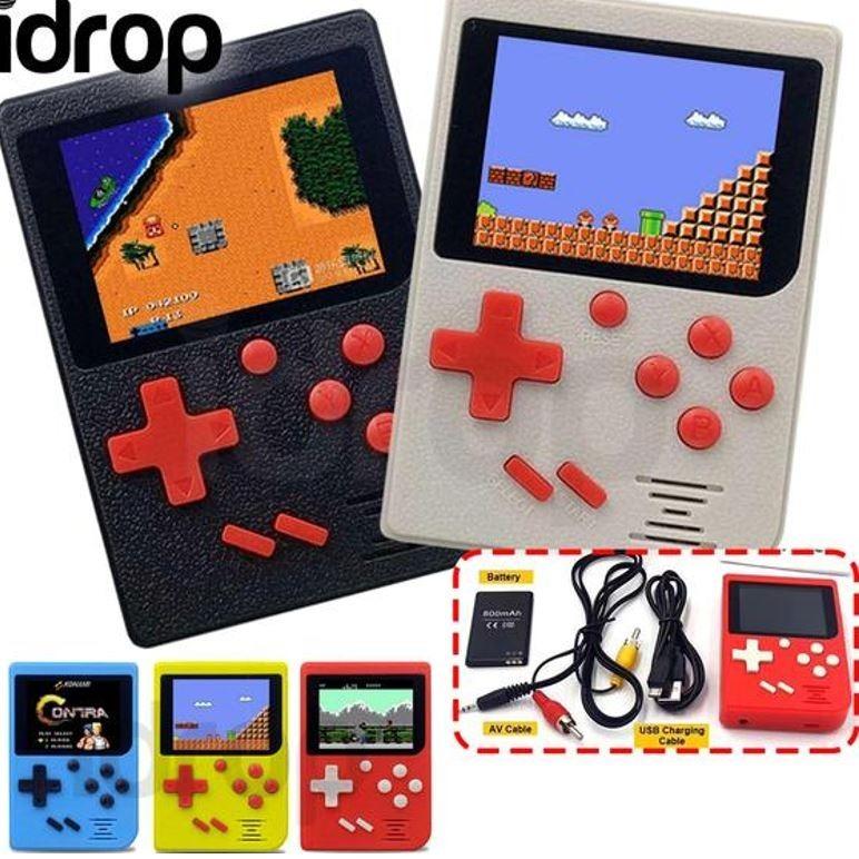 Consola Tipo Gameboy 300 Juegos Nintendo Nes Retro Te1429