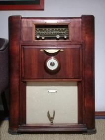 Consola Tocadiscos Radio Antiguo Zenith