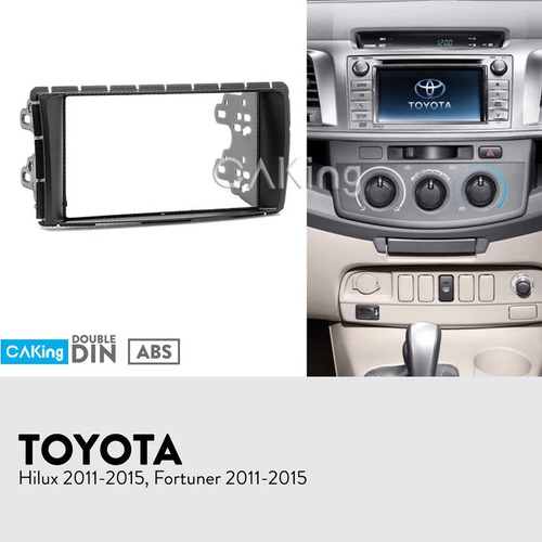 consola toyota hilux y fortuner 2011 al 2015