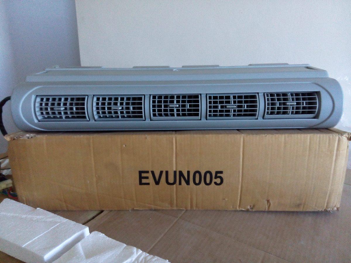 Consola universal aire acondicionado 12v 24v 5 rejillas for Aire acondicionado autocaravana 12v