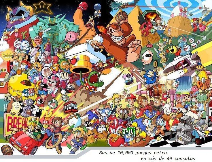 Consola De Videojuegos Retro Nespi Con Mas De 13 000 Juegos