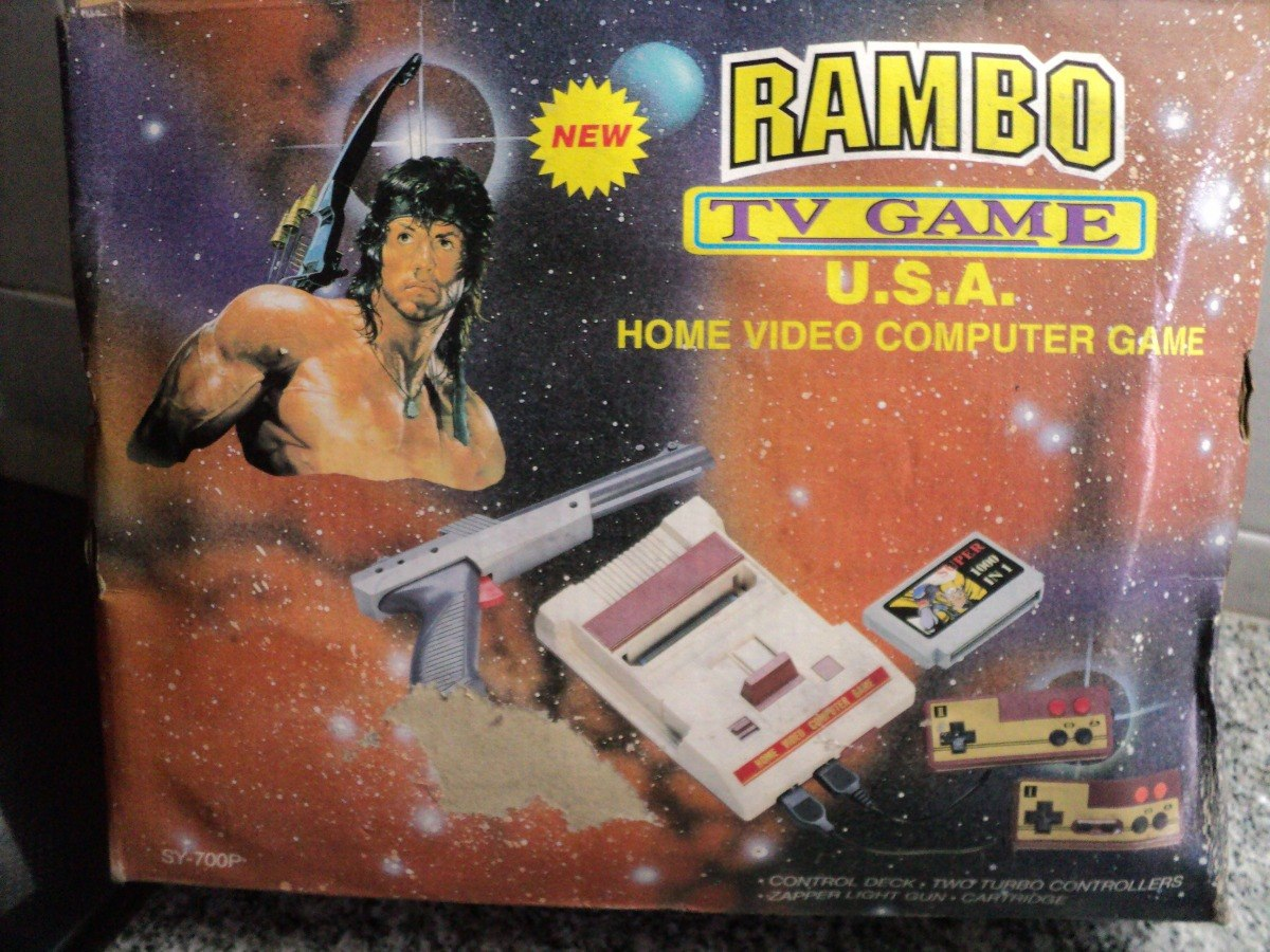 Consola Videojuegos Family Game Rambo Tv Game Sy 700p 2 500 00