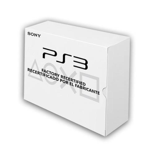 consola videojuegos playstation3 factory recertified ibushak