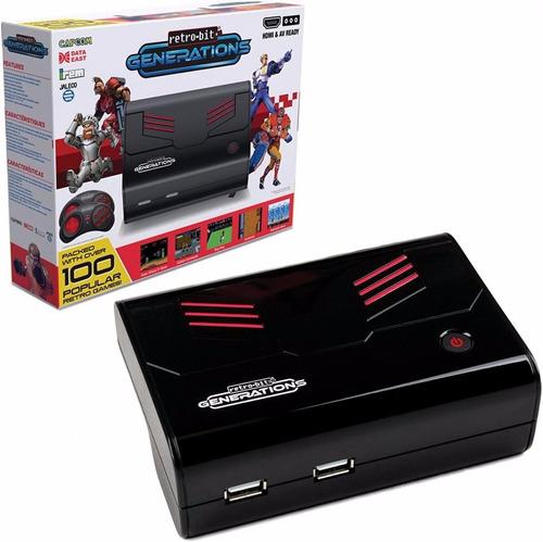 consola videojuegos retro bit generations mas de 100 juegos