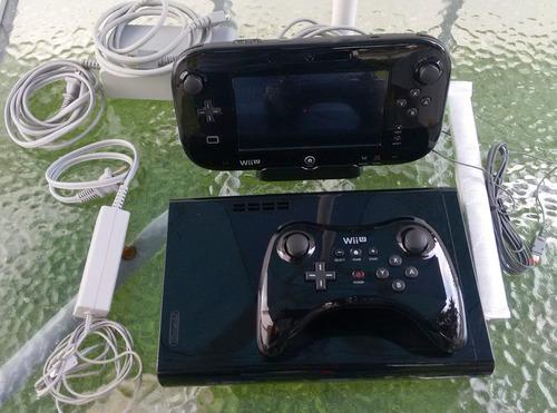 consola wii u32 gb, gamepad y control inalambrico. impecable