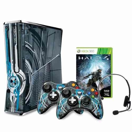 consola xbox 360 limited edition halo 4 bundle