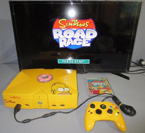 Consola Xbox Clasico Personalizado De The Simpsons