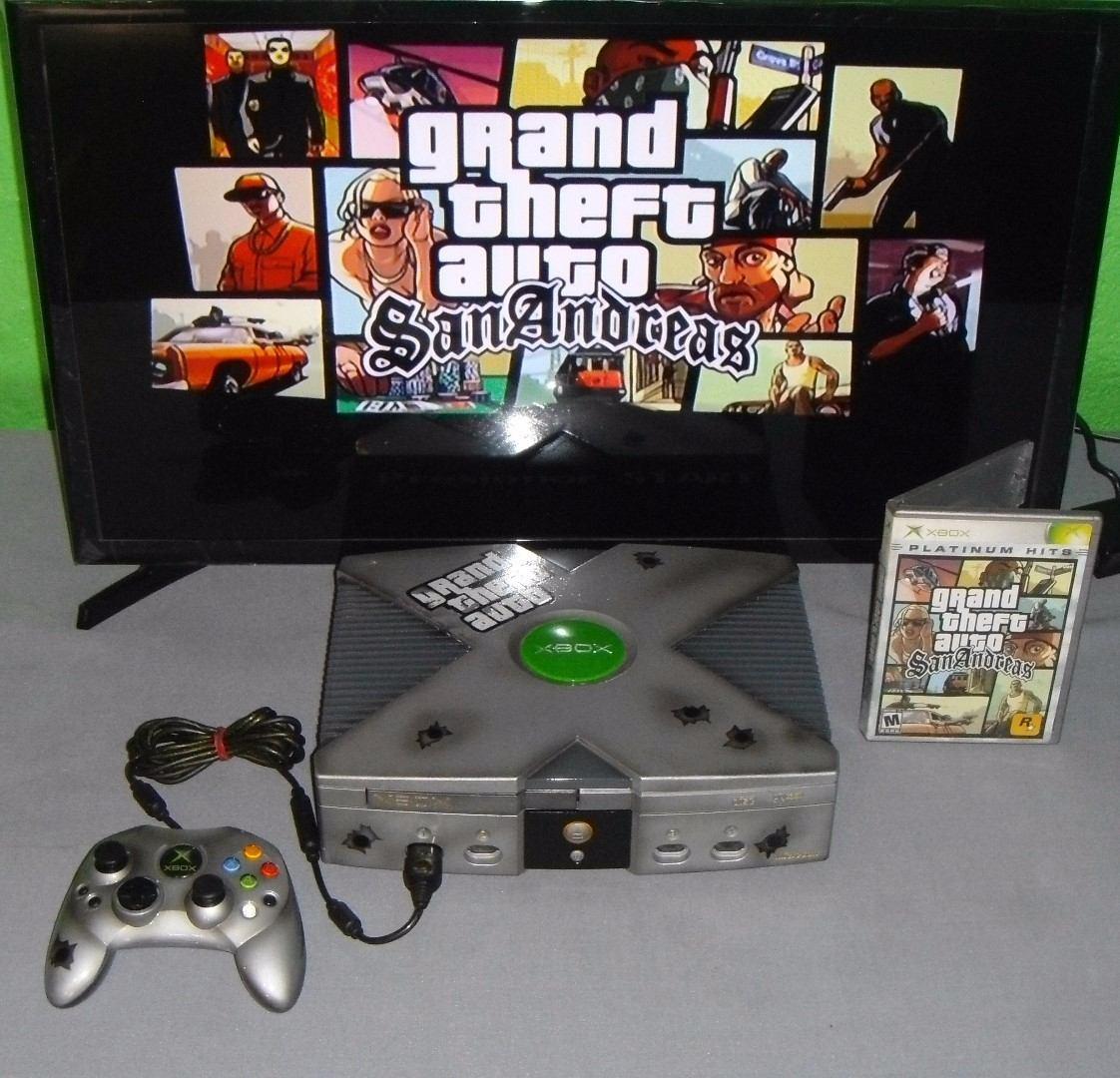 Consola Xbox Clasico Personalizado Grand Theft Auto San Andr